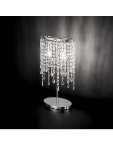 Idea Lux: Rain lume i con elementi in cristallo molato