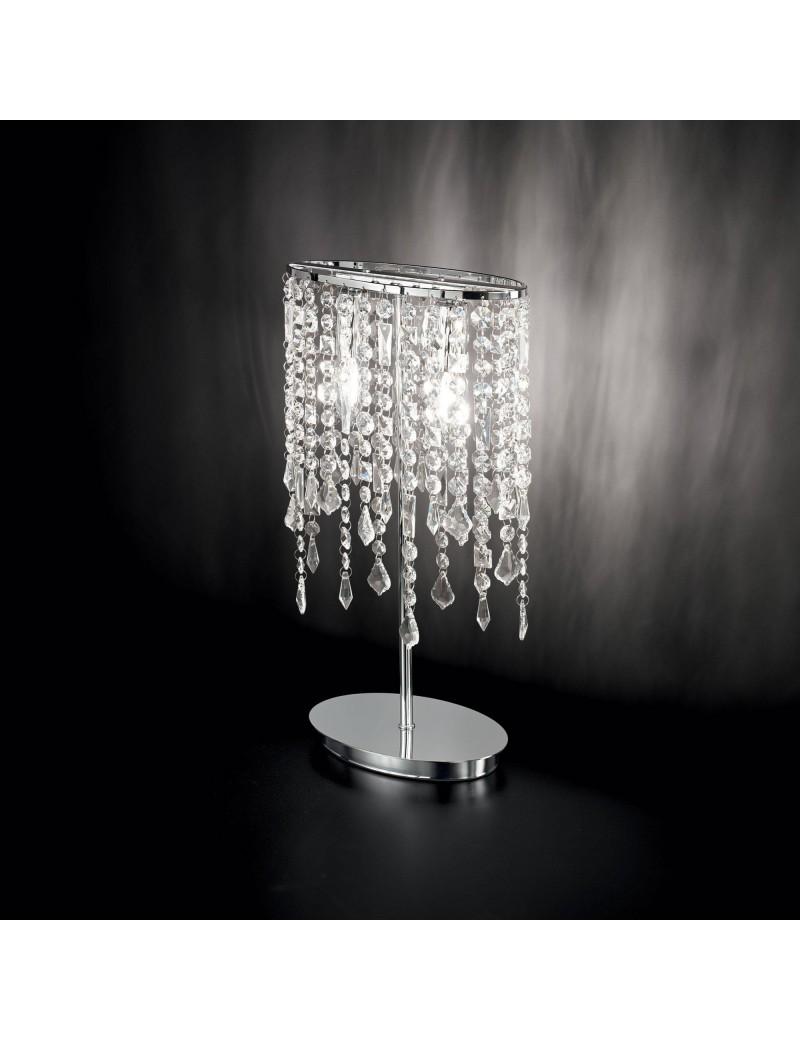 IDEAL LUX: Rain lume i con elementi in cristallo molato ottagonali, quadrati, rettangolari e gocce