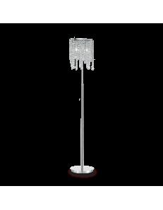 IDEAL LUX: Rain piantana con montatura ellittica e pendagli in cristallo molato in offerta