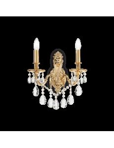 IDEAL LUX: Gioconda ap2 oro applique fusione metallo pendagli ed elementi in cristallo in offerta