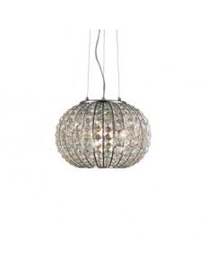 Lampada A Sospensione 3 Luci Calypso decorativi in cristallo molato