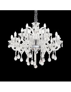 IDEAL LUX: Colossal sp15 lampadario sospensione pendagli e decorativi in vetro soffiato e cristallo