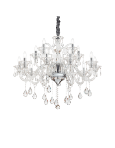 Lampadario sospensione colossal sp15 pendagli e decorativi in vetro soffiato e cristallo molato
