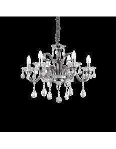 Lampadario sospensione colossal sp6 pendagli e decorativi in vetro soffiato e cristallo molato