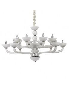 Idea Lux: Casanova sp16 lampadario sospensione vetro soffiato