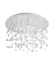 IDEAL LUX: Neve lampada da soffitto plafoniera 12 luci sfere di vetro bianco in offerta