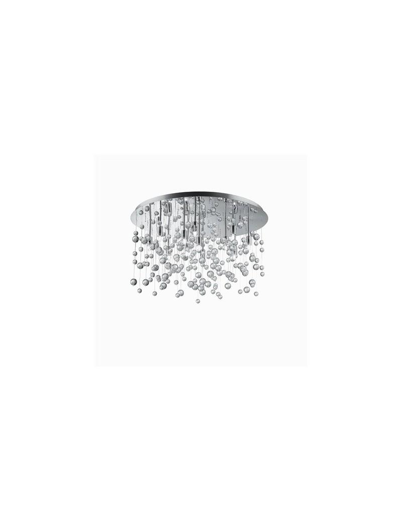 IDEAL LUX: Neve 12 luci lampada da soffitto plafoniera sfere di vetro trasparente in offerta