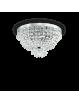 IDEAL LUX: Caesar pl5 cromo lampadario in cristallo molato con pendenti 5 luci in offerta