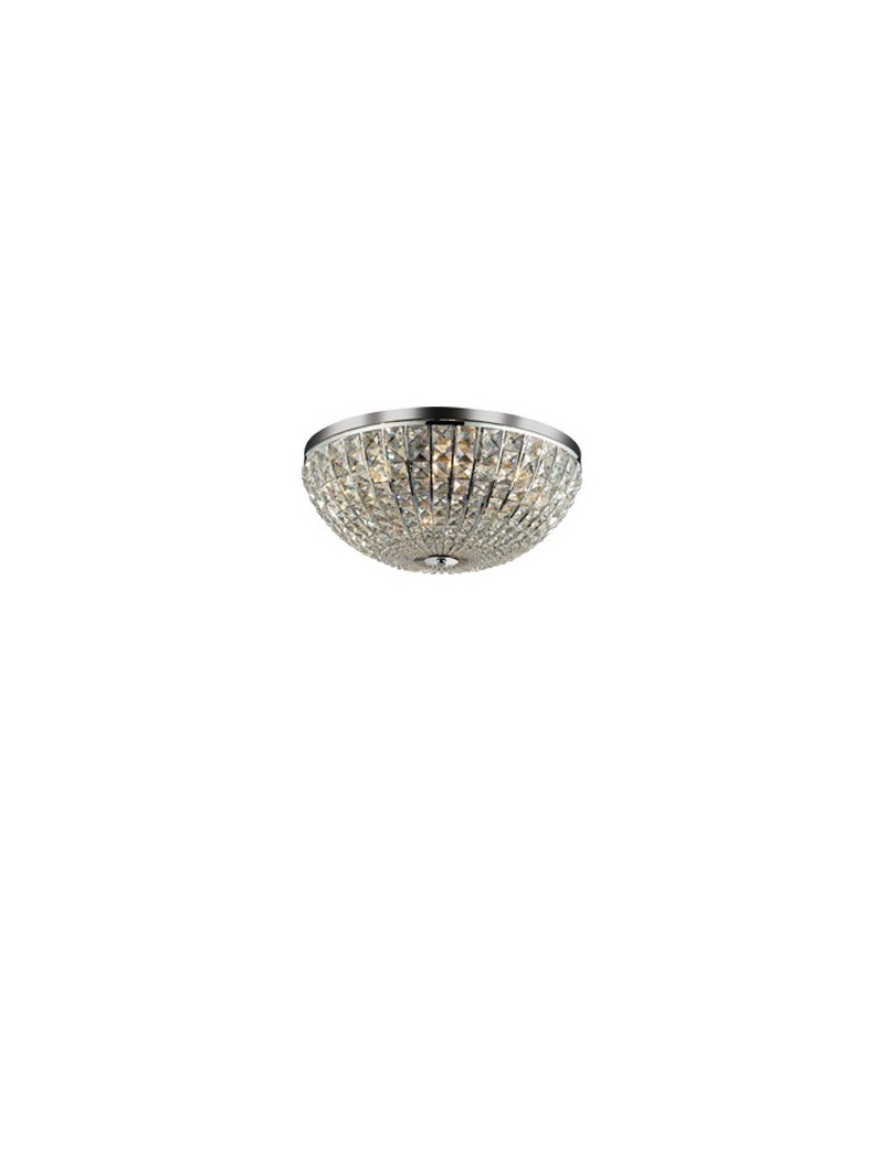 IDEAL LUX: Lampada Da Soffitto Plafoniera Calypso 8 Luci diam. 50 in offerta