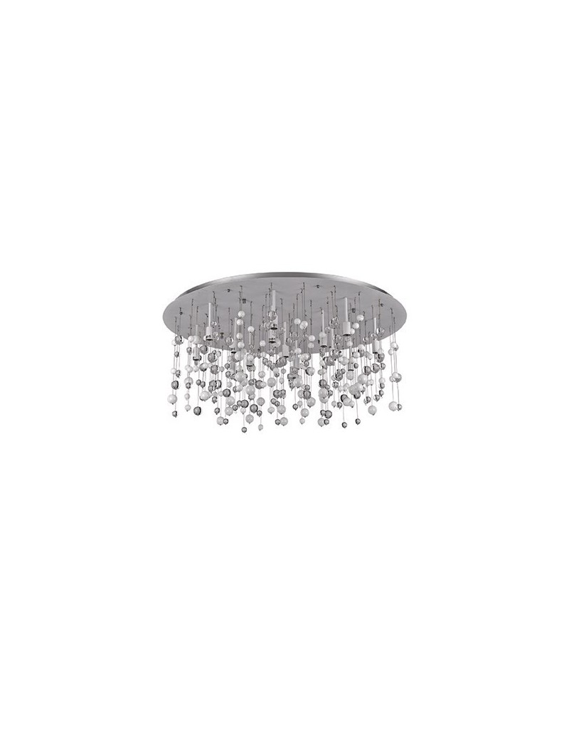 IDEAL LUX: Neve 15 luci lampada da soffitto plafoniera sfere di vetro bianco in offerta