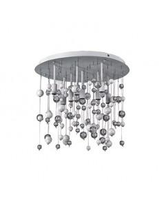 IDEAL LUX: Neve 8 luci lampada da soffitto plafoniera sfere di vetro bianco in offerta