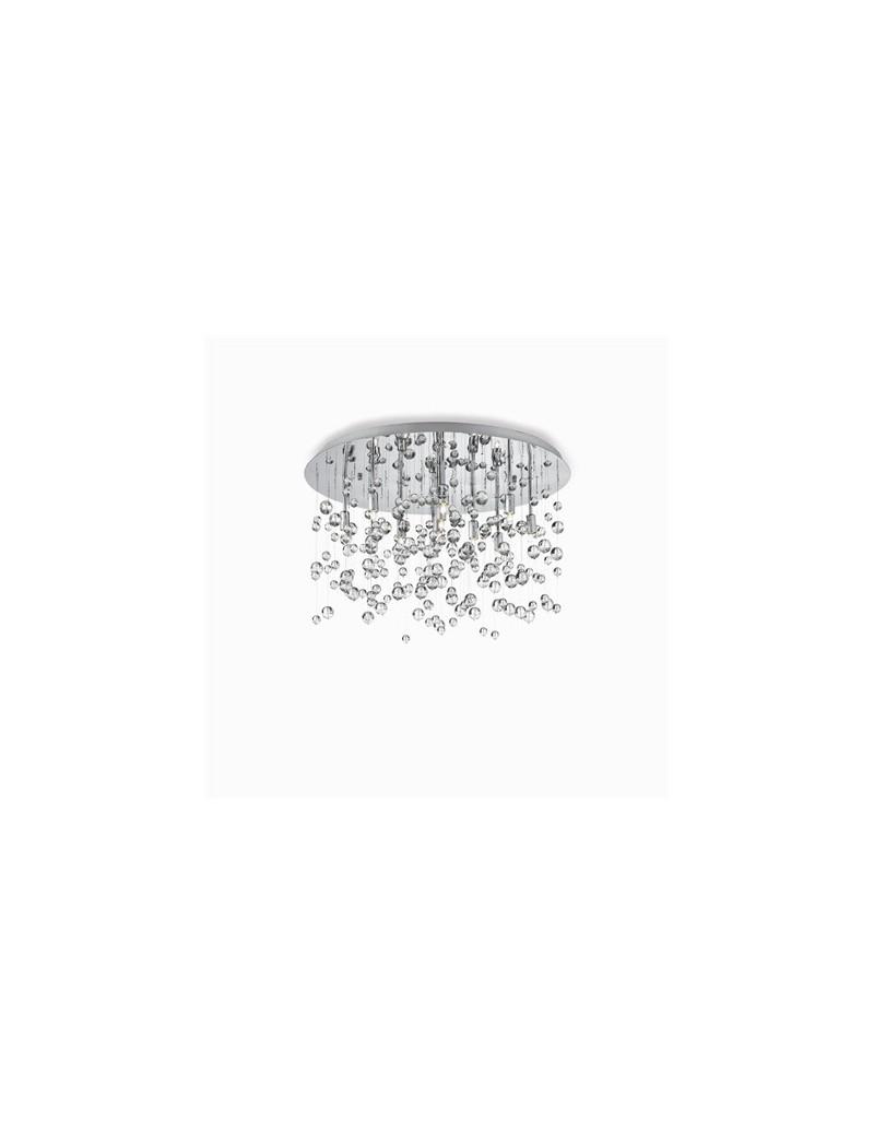 IDEAL LUX: Neve 8 luci lampada da soffitto plafoniera sfere di vetro trasparente in offerta