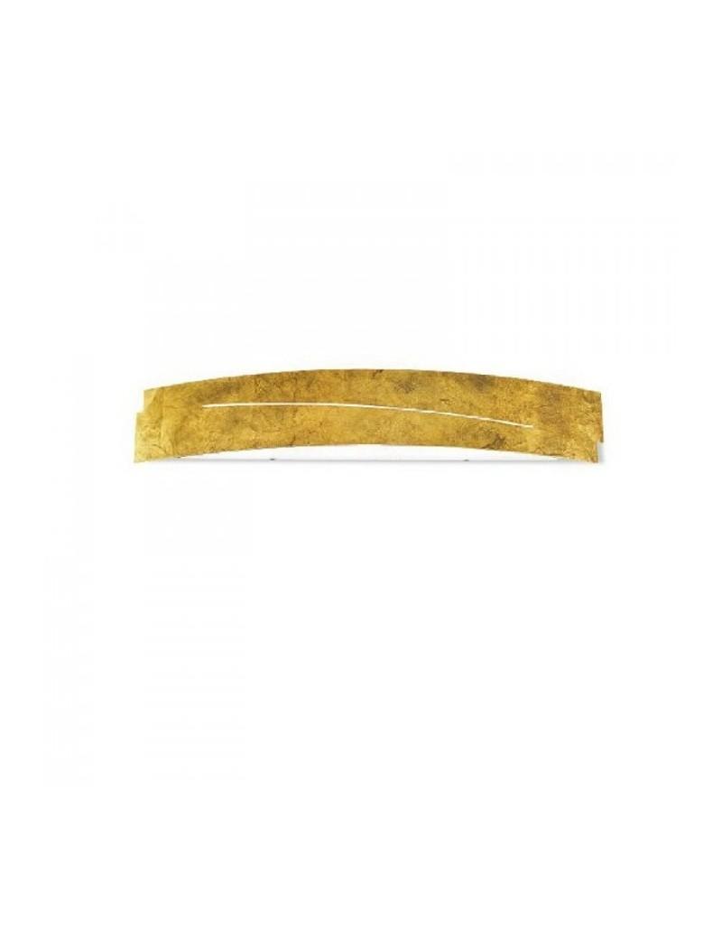 : Cloe applique piccola da parete metallo foglia oro in offerta
