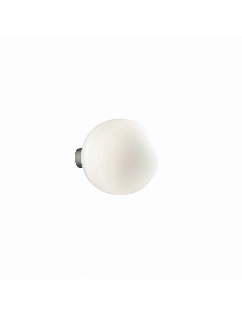 IDEAL LUX: Mapa ap1 bianco forma di sfera diffusore vetro soffiato 15cm in offerta