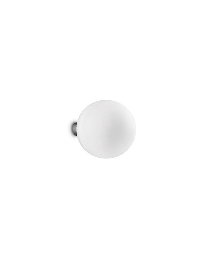 IDEAL LUX: Mapa ap1 bianco design sfera diffusore vetro soffiato 30cm in offerta