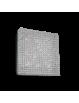 IDEAL LUX: Admiral 10 luci applique plafoniera quadrata parete diffusore cristallo molato in offerta