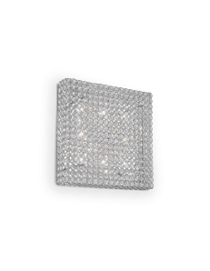 Admiral 8 luci applique parete diffusore cristallo molato