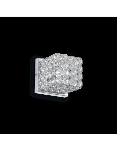 Idea Lux: Admiral 1 luce applique parete diffusore cristallo