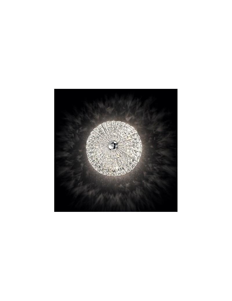 IDEAL LUX: Virgin 6 luci applique plafoniera decorato con perle e quadrati in cristallo in offerta