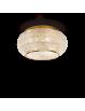 IDEAL LUX: Pasha oro lampada soffitto elegante diffusore perle di cristallo 10 luci in offerta