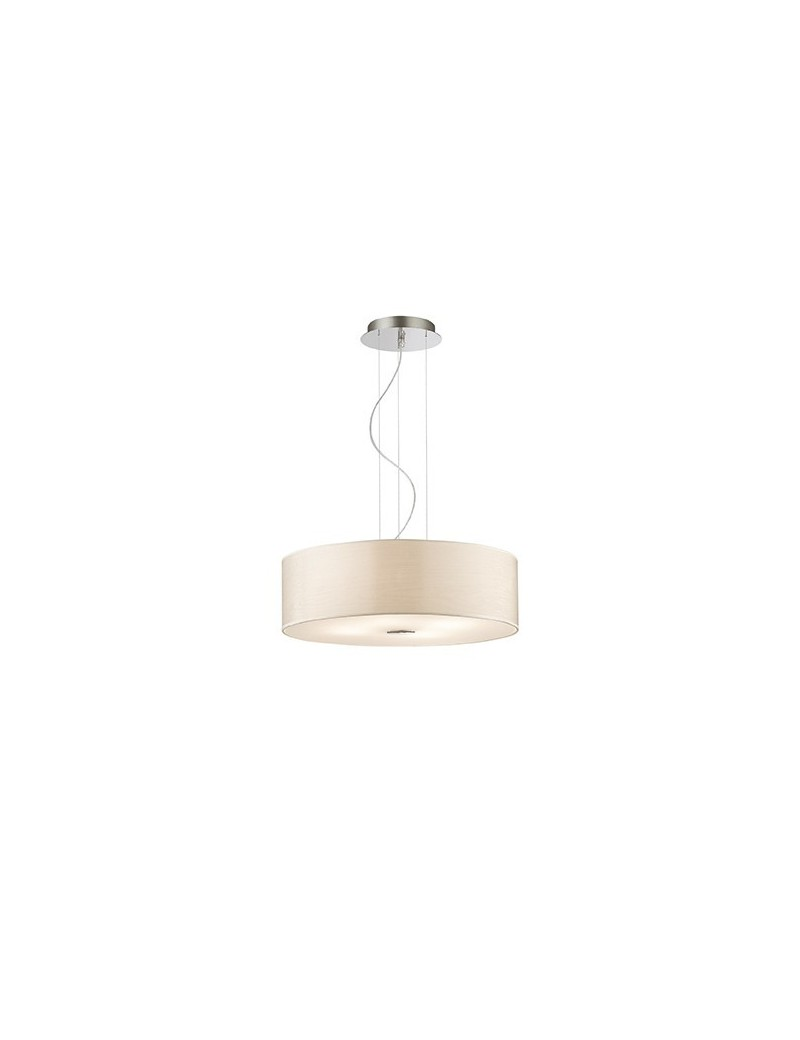 IDEAL LUX: Woody SP4 Lampadario effetto legno a 4 luci BETULLA ideal lux in offerta
