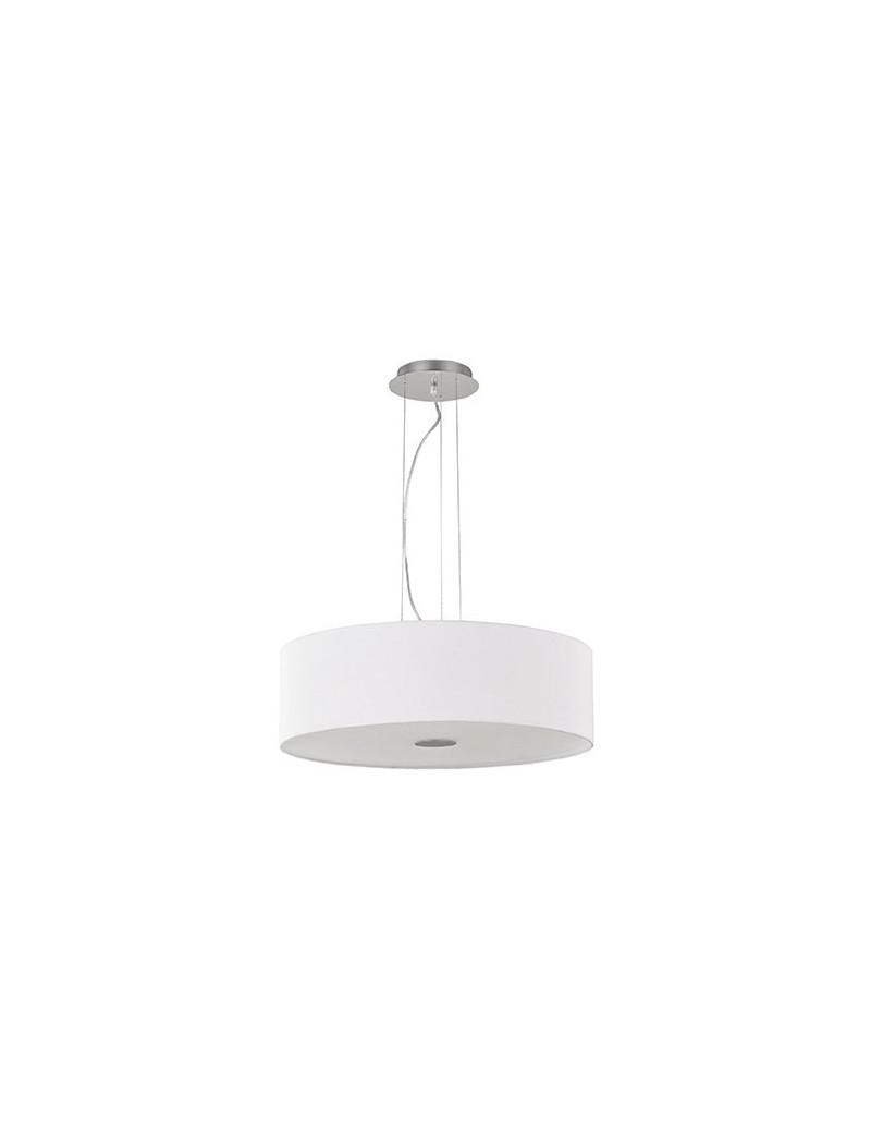 IDEAL LUX: Woody SP4 Lampadario effetto legno a 4 luci bianco ideal lux in offerta
