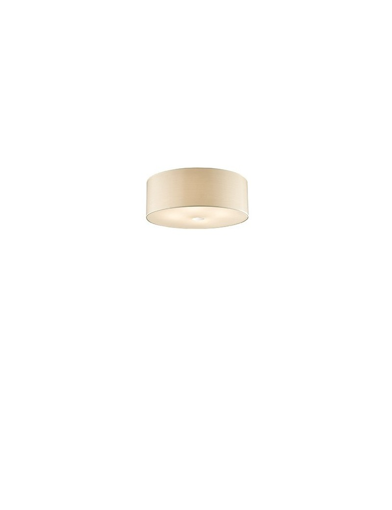 IDEAL LUX: Woody plafoniera pl4 effetto legno a 4 luci BETULLA ideal lux in offerta