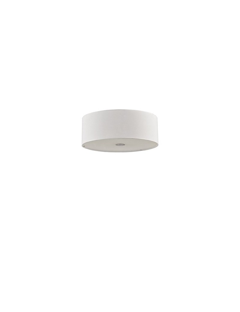 IDEAL LUX: Woody sp4 lampadario effetto legno a 4 luci bianco in offerta