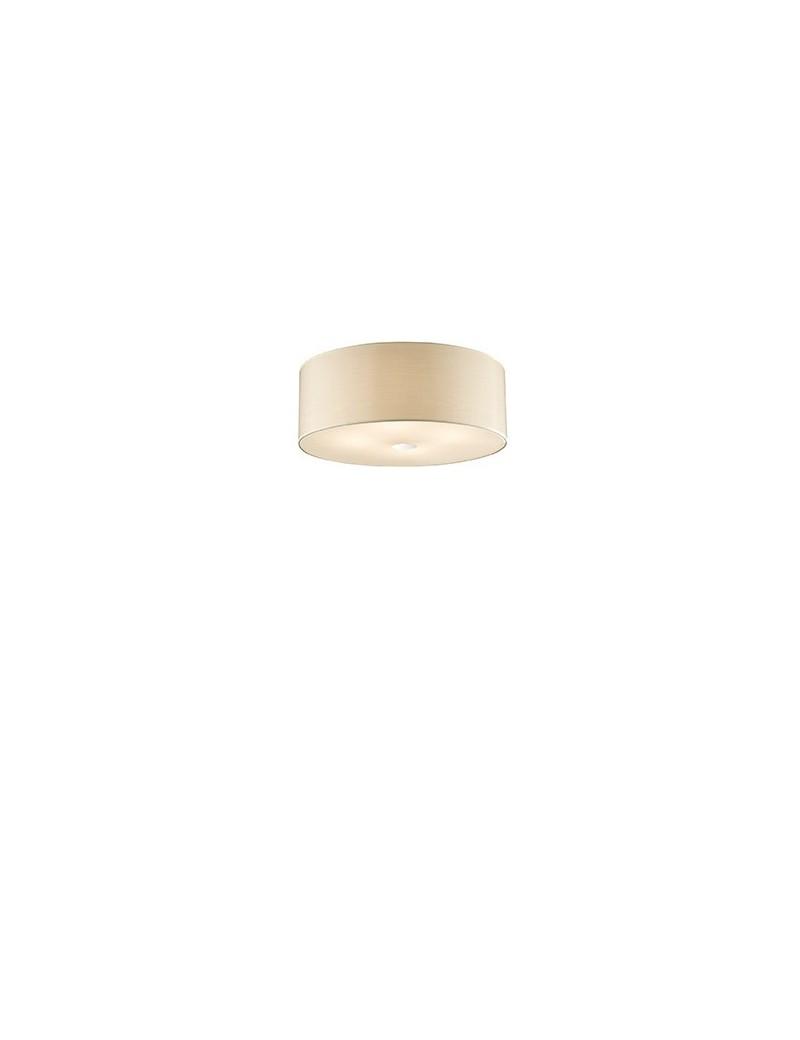 IDEAL LUX: Woody plafoniera pl5 effetto legno a 5 luci BETULLA ideal lux in offerta