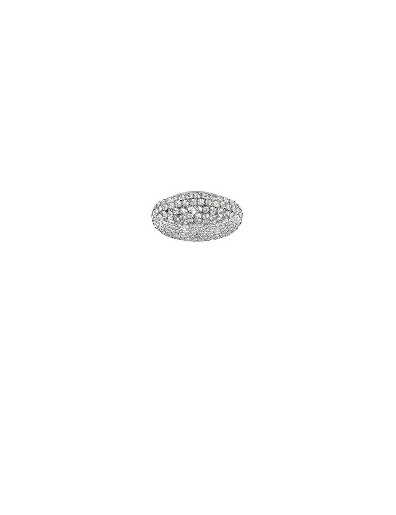 IDEAL LUX: King pl5 lampada soffitto plafoniera cromo cristalli incastonati in offerta