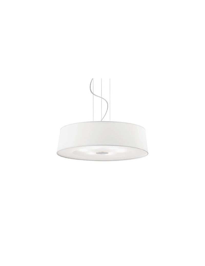 IDEAL LUX: Hilton sp6 sospensione regolabile moderna bianco cromo 60cm in offerta
