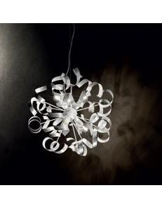 Vortex sp6 sospensione artigianale riccioli argento