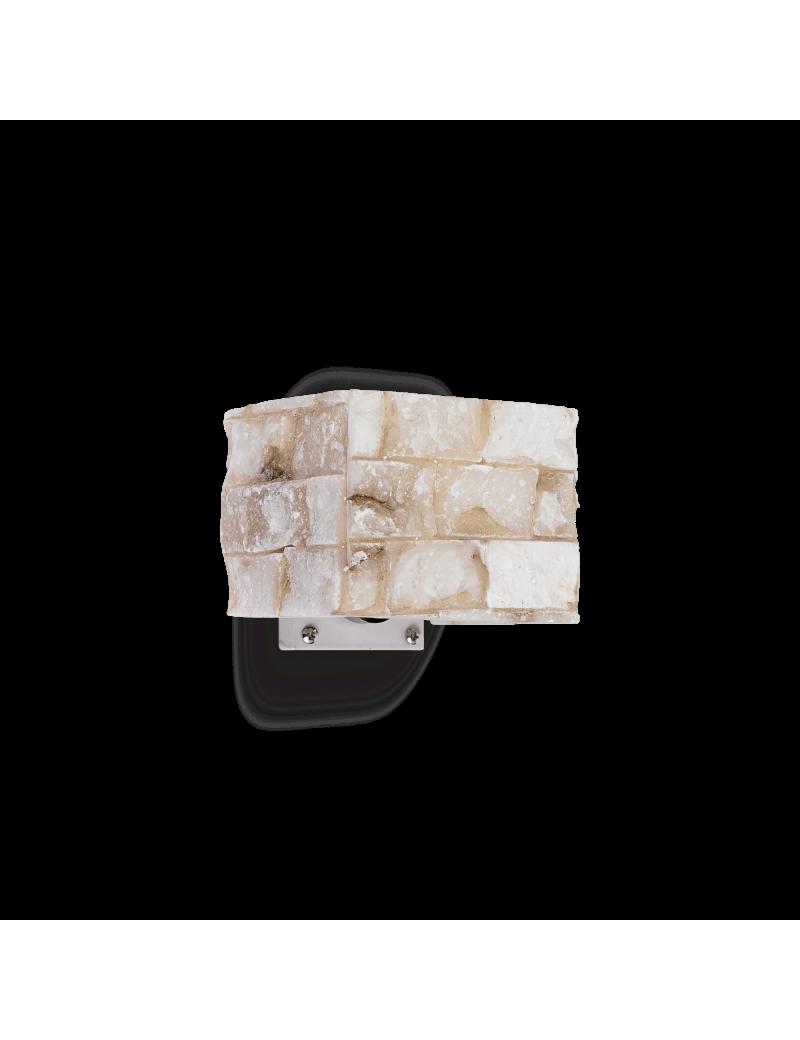 IDEAL LUX: Carrara ap1 applique effetto marmo carrara in alabastro in offerta