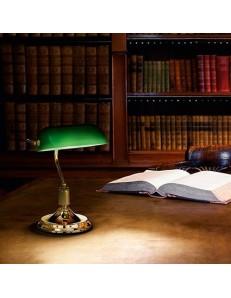IDEAL LUX: LAWYER TL1 OTTONE LAMPADA UFFICIO SCRIVANIA METALLO E VETRO IDEAL LUX in offerta