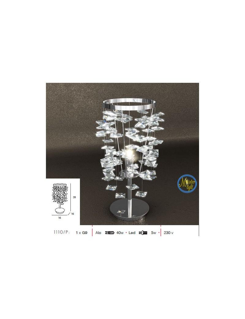 TOP LIGHT: Flare lume lumetto elegante con cristalli pendenti in offerta