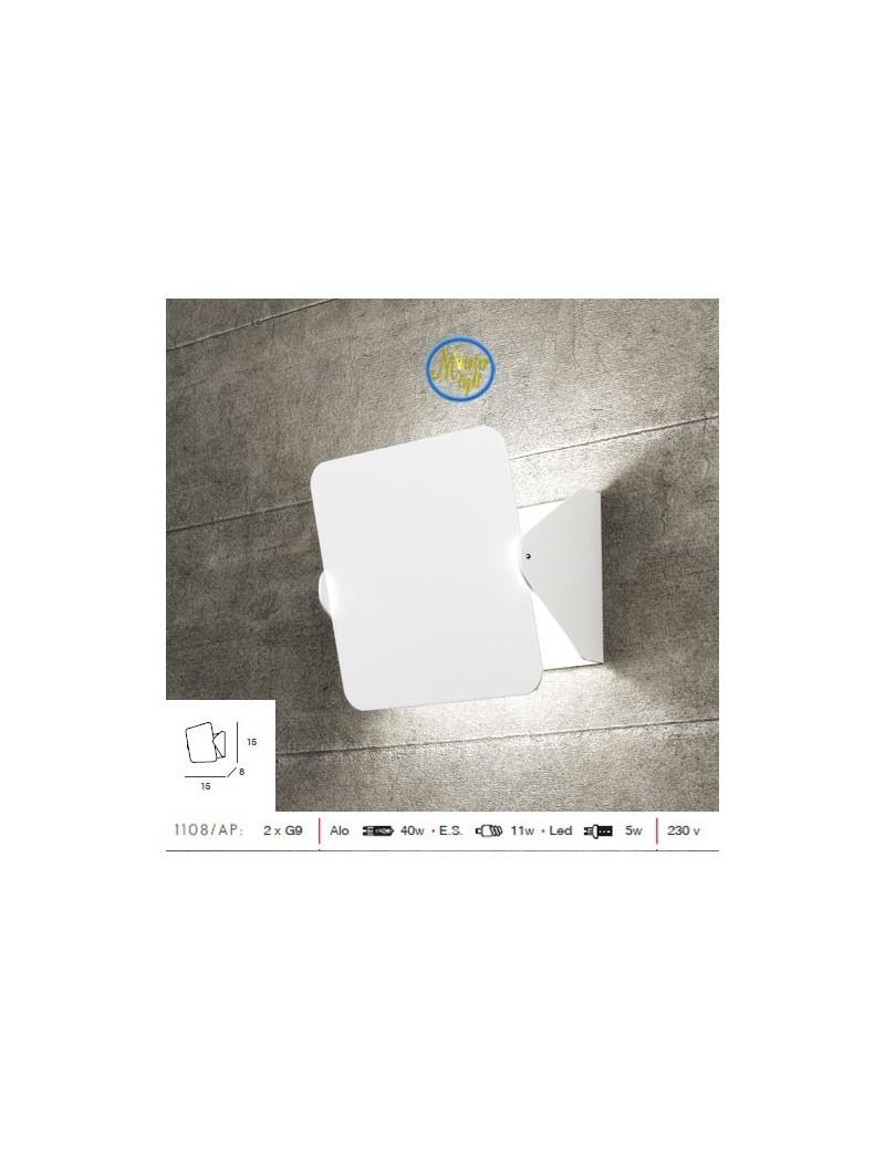 TOP LIGHT: Screen diffusore basculante applique moderno bianco piccola in offerta