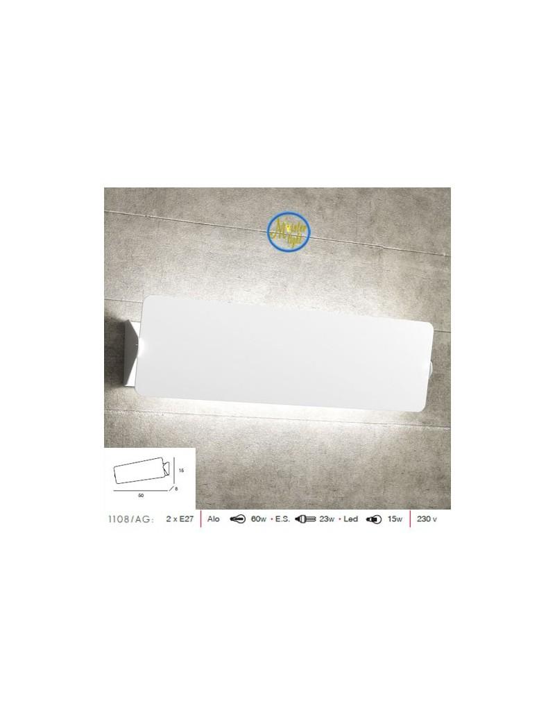 TOP LIGHT: Screen applique moderno diffusore basculante bianco grande in offerta