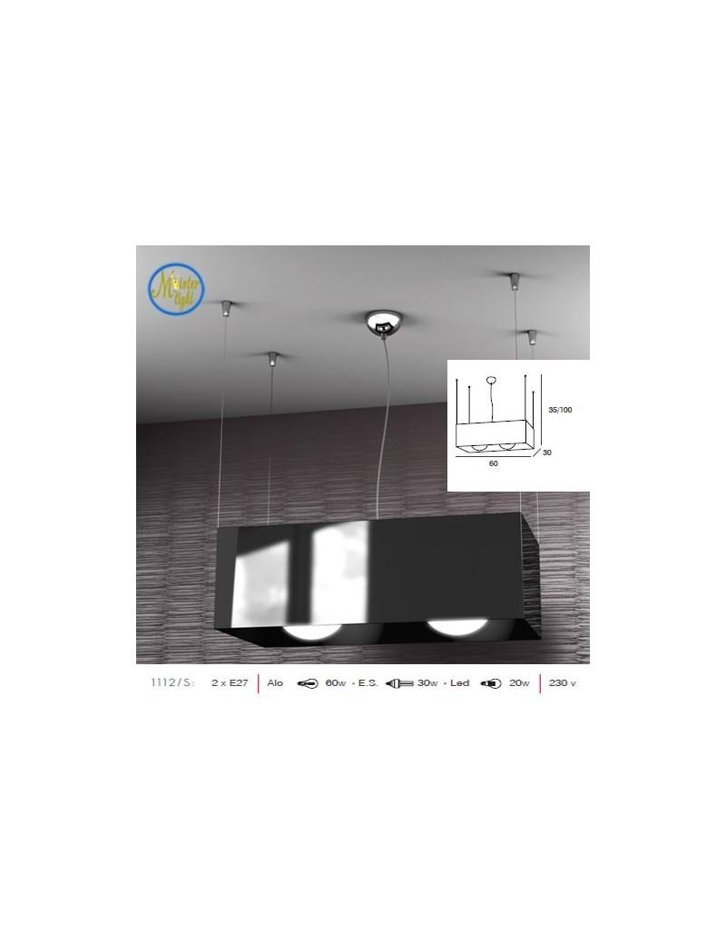 TOP LIGHT: Loft lampada sospensione rettangolare moderna in offerta