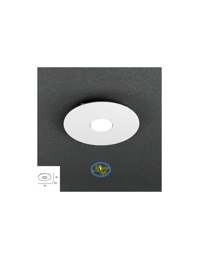 TOP LIGHT: Cloud applique plafoniera bianco design moderno 25cm in offerta