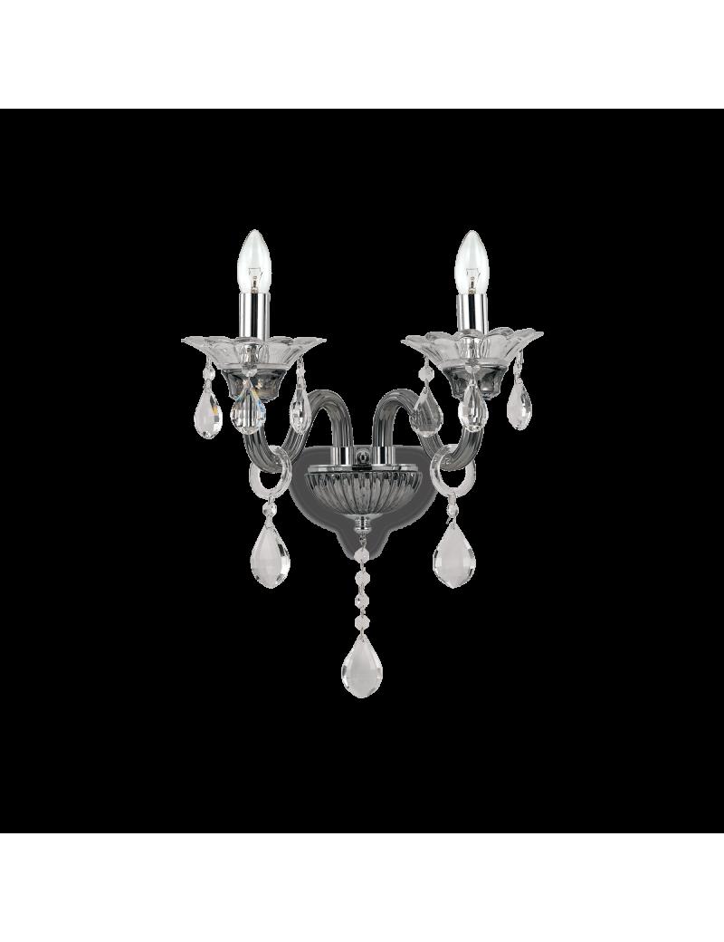 IDEAL LUX: Colossal ap2 applique da parete pendagli e decorativi in vetro soffiato e cristallo