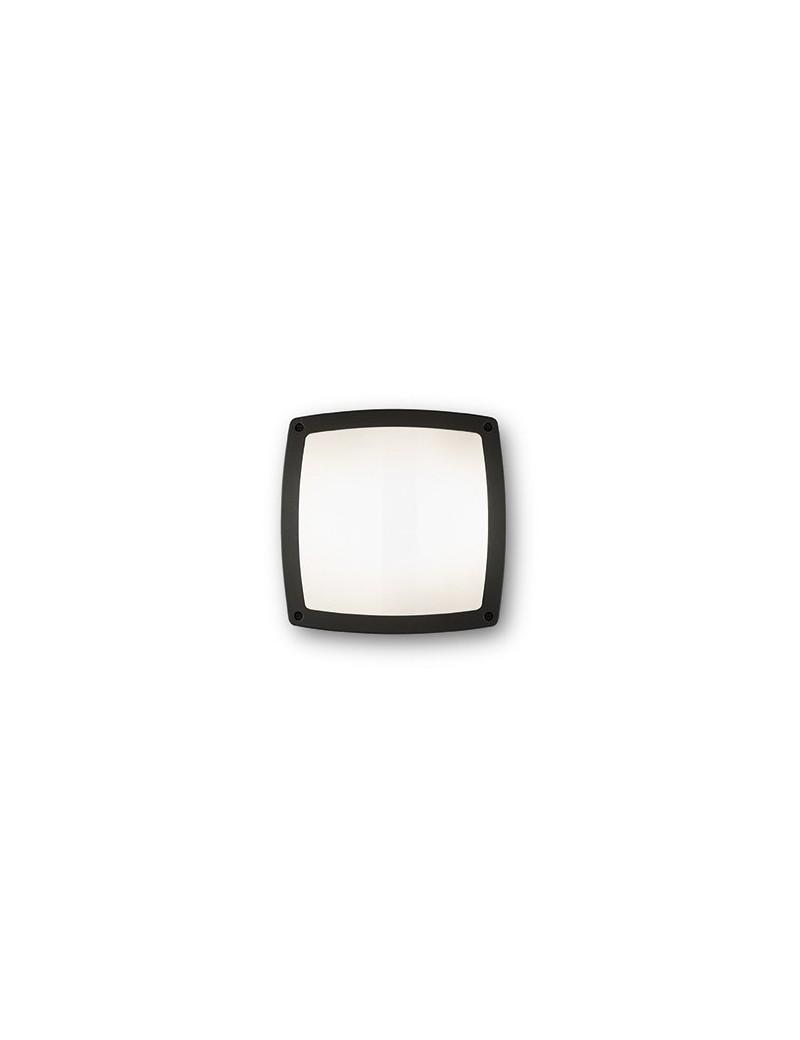 IDEAL LUX: Cometa pl3 plafoniera applique illuminazione esterno nero in offerta