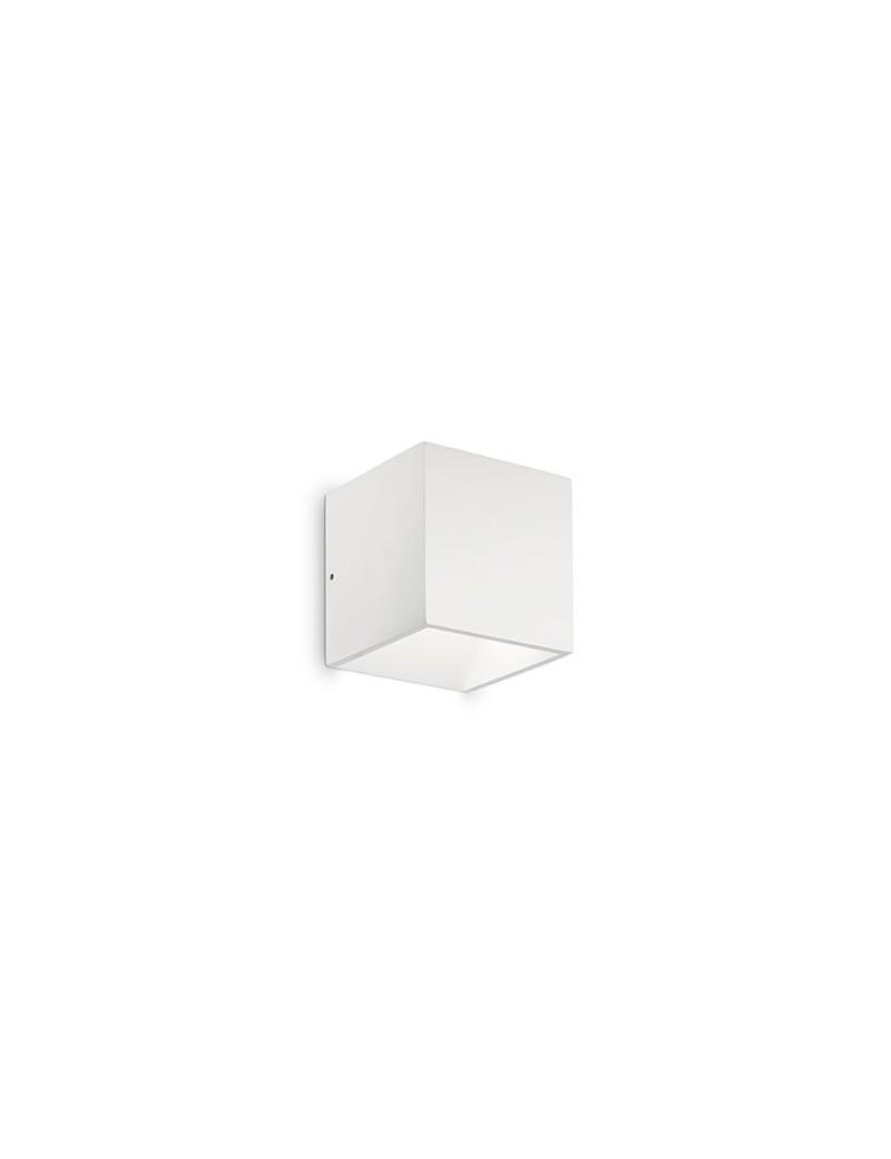IDEAL LUX: Rubik ap1 rubik parete applique esterno LED integrato bianco in offerta