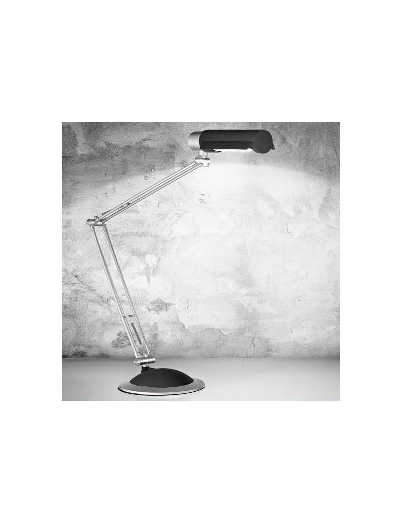 PERENZ: Lampada tavolo orientabile plastica nero per scrivania ufficio in offerta