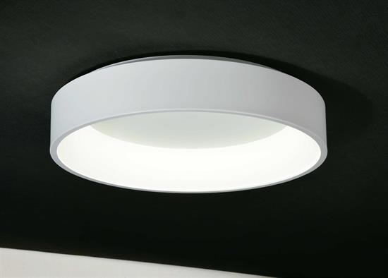 Plafoniere Grandi Per Soggiorno : Plafoniera anello led bianco diametro cucina camera soggiorno