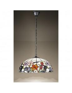 PERENZ: Tiffany t992s lampadario a sospensione decorato con fiori e frutta in offerta