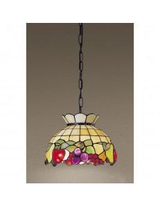 PERENZ: Tiffany t924s lampadario decorato con frutta colorata mela uva in offerta