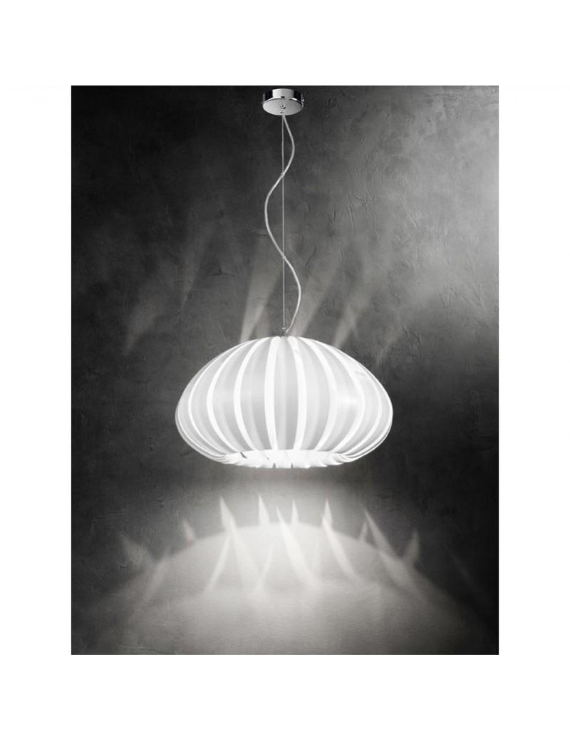 Sospensione in acrilico bianco PERENZ 6030T Lampada moderno cucina ...