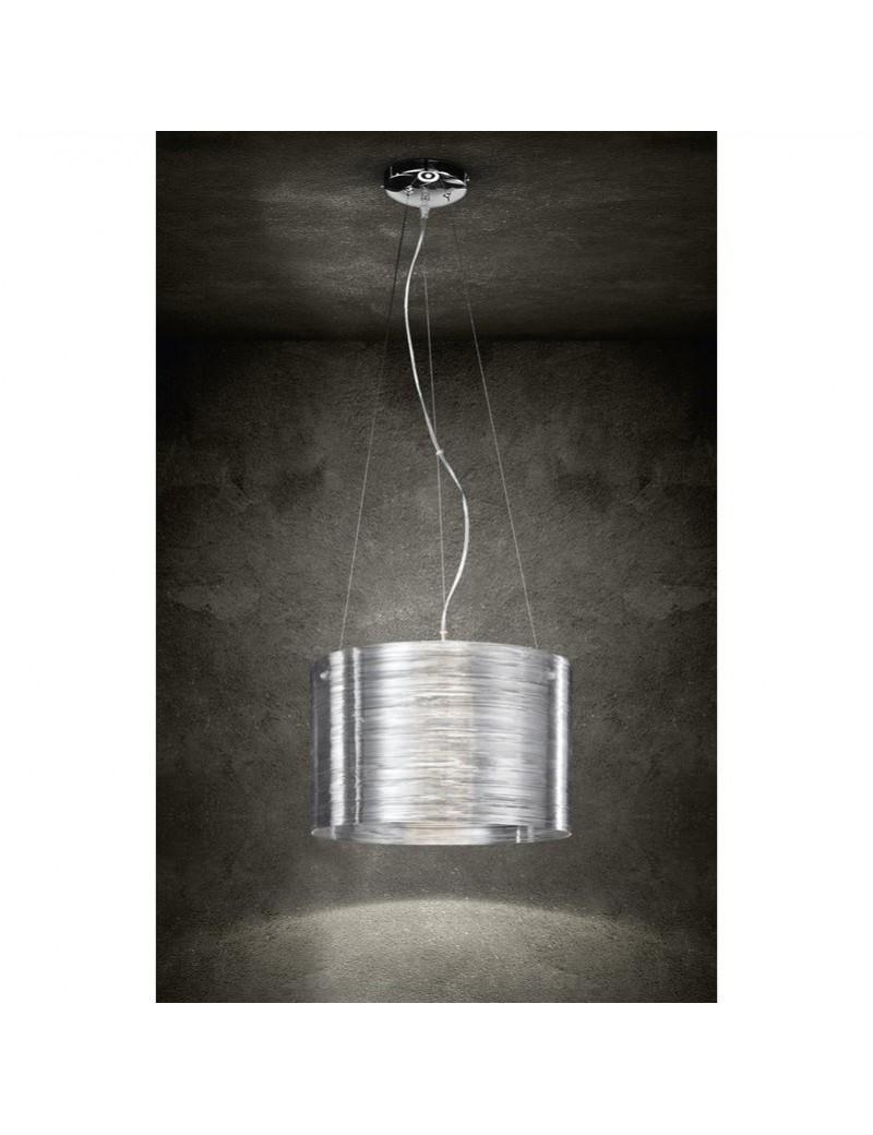 5828 Lampada sospensione dal design moderno realizzato in acrilico  trasparente