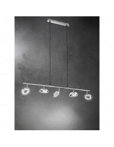 Perenz: Sospensione LED in metallo lampada 5 luci in offerta