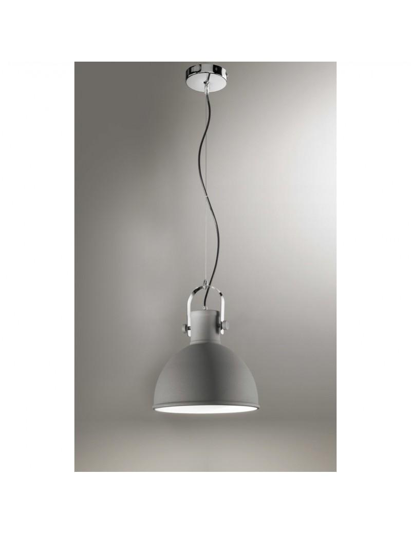 PERENZ: Sospensione in metallo regolabile grigio 30cm in offerta